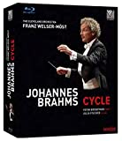 Johannes Brahms Cycle (The Cleveland Orchestra/Franz Welser-Most) [Blu-ray]