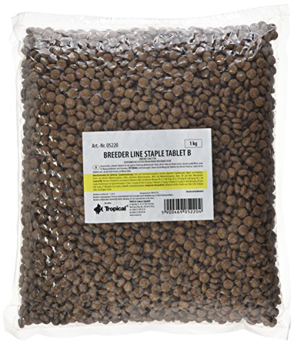 Tropical BL Staple Tablet B Hauptfutter Bodentabletten, 1er Pack (1 x 1 kg)