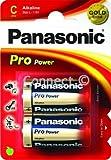 Panasonic Panasonic pro Leistung C 'Größe alkaline Batterien 1,5 V Typ HP11/MN1400 Freimaurertempel 2 2 C-Zellen Freimaurertempel' alkaline Batterien pro C LR14 Duracell MN1400 R14 R14P LR14 LR14A AM-2 HP11 Varta 4106 Kodak KC K4A Toshiba LR14N 14 A 14 AC 814 Varta Rayovac Nedy 4014 C Panasonic AM2 Energizer Ever Ready E93 BABY - Verbrauchsartikel