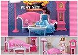 Barbie Size Dollhouse Furniture- Living ...