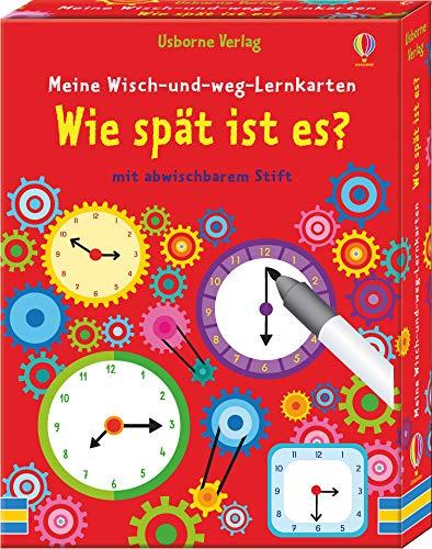dtv Meine Wisch-und-Weg-Lernkarten: Wie spät ist es?