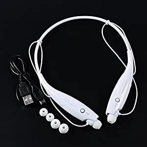 JYARA Presents In Ear Bluetooth Neckband Earphone with feature of Sound Clarity ||Noise Cancellation ||Voice Clarity ||Amazing Sound ||Attractive look ||Feet Taping Music sound ||Sweat Proof ||Premium Look||Professional Bluetooth 4.1 Wireless Stereo Sport Headphones Headset Compatible with your