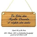 Mr. & Mrs. Panda Türschild Stadt Kapellen-Drusweiler Classic Schild - Gravur,Graviert Türschild,Tür Schild,Schild, Fan, Fanartikel, Souvenir, Andenken, Fanclub, Stadt, Mitbringsel