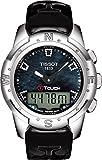 Tissot T-Touch II Titane Femme Nacre Noir diamant montre T0472204612600