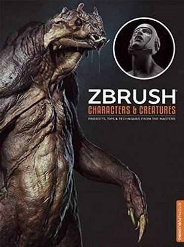 ZBrush Characters and Creatures por Kurt Papstein