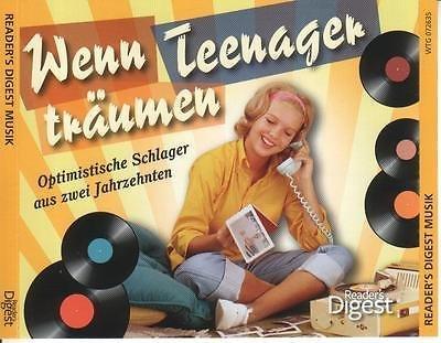 5-CD-Box Wenn Teenager träumen (Optimistische Schlager aus zwei Jahrzehnten)