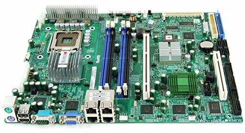 775 Server Mainboard (Supermicro PDSMi-LN4 Socket/Sockel 775 ATX Server Mainboard SC513F SC743i SC742i (Generalüberholt))