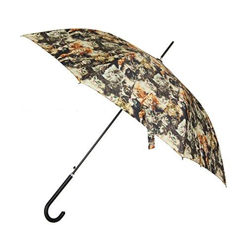 Signare Mode Stockschirm, Regenschirm Stil Modell Katze für...