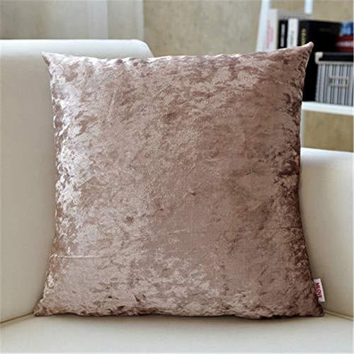 Owenqian-Pillow Outdoor Akzent Kissen Europäische Kissen Sleeper Standardgröße Sofa Kissen dekorative Sets mit Einsätzen Kissen Dekorative Kissen (Farbe : 2, Größe : 55cm) -