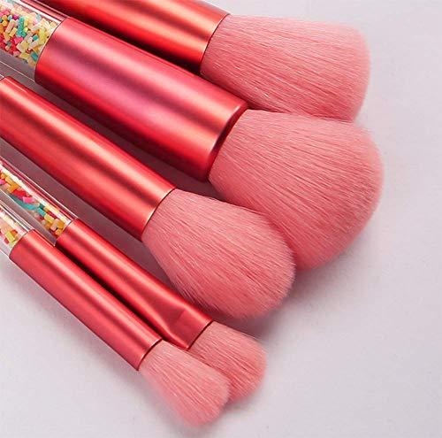 DASHUICHONGLE 5. Süßigkeiten Kosmetik transparent Bunte kunststoff - granulat MIT make - up - Make - up - pinsel - set.