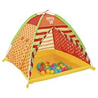 Bestway Children's Ball Pit Tent with 40 Balls (Multi Color BW68080)