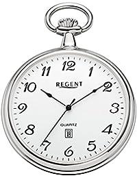 Regent - Taschenuhr - Quarz - Silber - P80