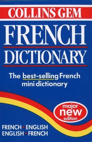 Collins Gem French Dictionary (Collins Gems) by HARPER COLLINS PUBLISHERS (1997-12-23) -