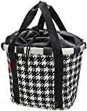 City-Tasche Reisenthel Bikebasket fifties black, 35x28x26cm, KLICKfix