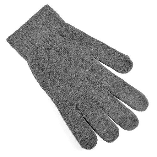 Damen Magic Gloves Thermo-Handschuhe mit Wollanteil (One Size) (Grau) (Damen Gloves Magic)