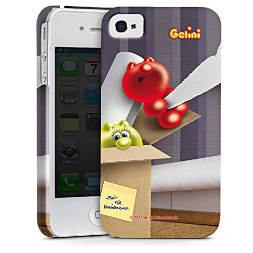 Apple iPhone X Silikon Hülle Case Schutzhülle Gelini Gummibärchen Karton Premium Case glänzend