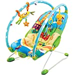 Tiny Love Gymini Bouncer Chair with Music, Newborn Baby Bouncer with Removable Toy Bars and Pram and Pushchair Toys…