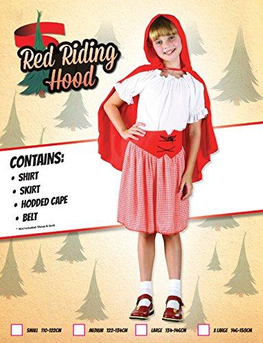 Imagen de disfraz de niña de caperucita roja. 10  13 años alternativa
