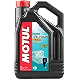 MOTUL - 106447/74 : Aceite lubricante motores nautica motos agua fueraborda OUTBOARD TECH 4T 10W30 5 L