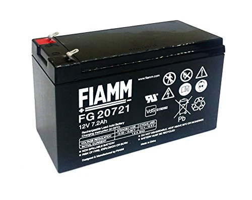FIAMM FG 20721 BATTERIA AL PIOMBO 12V - 7,2 AH - 7AH - FG20721