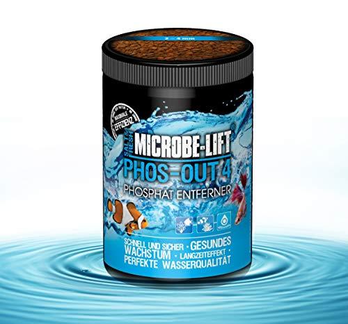 MICROBE-LIFT Phos-Out 4 Filtermedium - Phosphat Entferner für Süßwasser und Meerwasser Aquarium, schnell & sicher, 625g