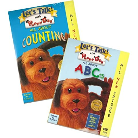 Let's Talk With Puppy Dog: All About ABC's & All About Counting