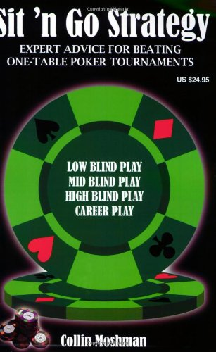 Sit 'n Go Strategy: Expert Advice for Beating One Table Poker Tournaments par Collin Moshman