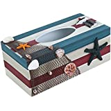 Jungen de madera caja para pañuelos diseño de agradable para escritorio (24* 12* 9,5cm