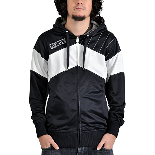 Assassin's Creed Unity Trainingsjacke blau/weiß (Kapuze Creed Assassins)