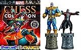 Colección Ajedrez Marvel Comics Marvel Chess Collection Edición Doble Starlord & Thanos