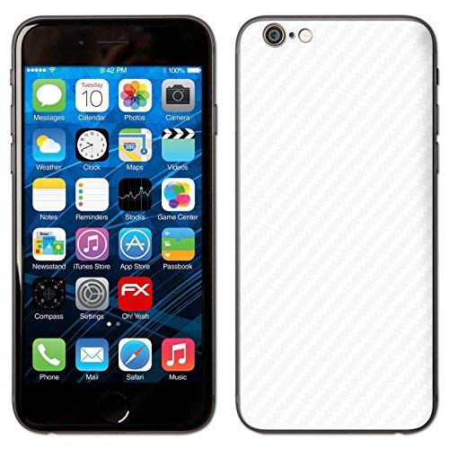 """Skin Apple iPhone 6 """"FX-Carbon-Red"""" Designfolie Sticker FX-Carbon-Alpine"""