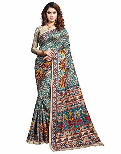 Miraan Printed Art Silk Saree for women with blouse (36)
