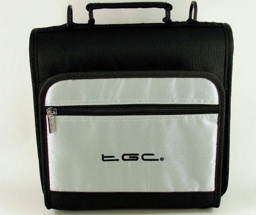nueva-electrica-plata-y-negro-deluxe-doble-compartimento-hombro-bolsa-de-transporte-para-el-barnes-n