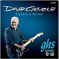 GHS GB-DGF Boomers David Gilmour - Juego de cuerdas para guitarra eléctrica, 10-48