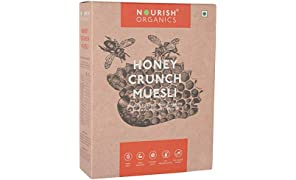 Nourish Organics Honey Crunch Muesli, 300g