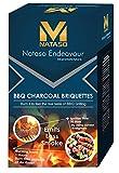 #9: Nataso Barbeque Charcoal Briquettes (Pillow Shape – 3Kg)