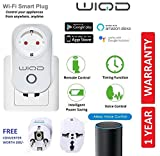 Best Smart Home Devices - WIQD® Smart WiFi Plug Socket, works with Alexa Review