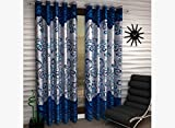 Freehomestyle Floral Door Curtain- Multi...