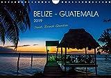 Belize - Guatemala (Wandkalender 2019 DIN A4 quer): Auf Entdeckungsreise in zwei bezaubernde Länder Mittelamerikas (Monatskalender, 14 Seiten ) (CALVENDO Natur) - CALVENDO