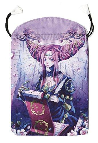 Mystical Manga Tarot Satin Bag