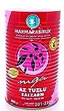 Marmarabirlik Mega Salzarm - natürlich fermentierte schwarze Premium Oliven ohne Konservierungsstoffe (Abtropfgewicht 800g)