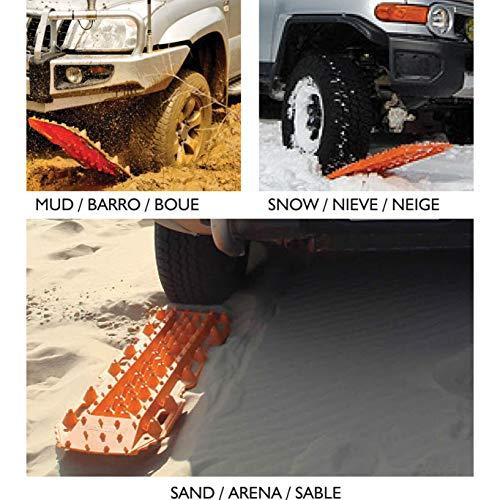 HABILL-AUTO Plaques de désensablement/Neige Tout Terrain 4x4