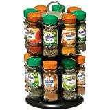 Premier Housewares Revolving Spice Rack with Schwartz Spices (Spice Rack 16)