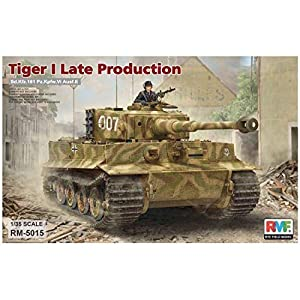 RYE FIELD MODEL RM5015 - Maqueta de Tiger I Late Production