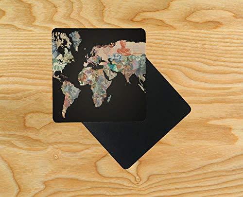 , Motiv Weltkarte