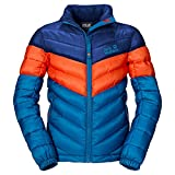 Jack Wolfskin Jungen Jacke Kids Icecamp Jacket, Brilliant Blue, 128, 1604151-1152128
