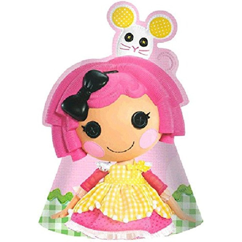 Adorable Lalaloopsy Birthday Party Paper Hats Wearable Wearable Wearable Accessory Favour (8 Pack), Pink, 7 . 516e35