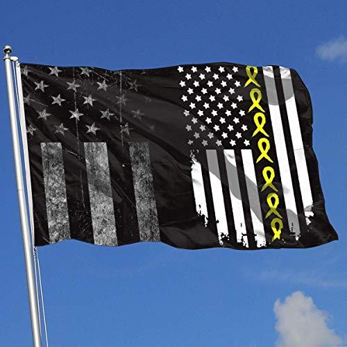 N/A Blasenkrebs Awaren Amerikanische Flagge Banner Flagge Grafik Urlaub Flagge Frühling Sommer Dekorative Flagge 3 X5 Haus Banner Flagge -