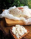 Filtro di formaggio 80x80cm - Telo in 100% cotone - Produzione del formaggio