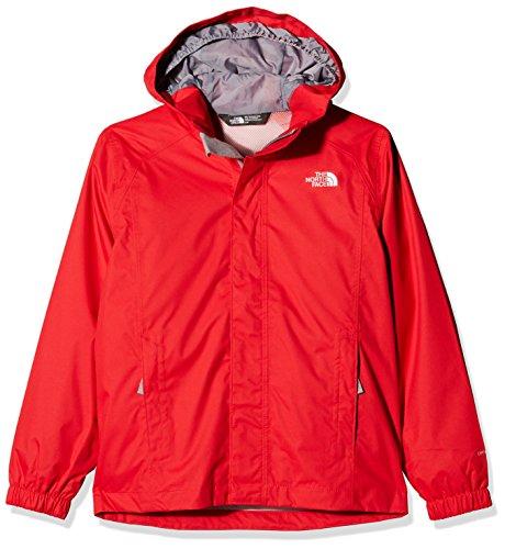 North Face B Resolve Reflective Jacket-Jacke, Kind M rot (Jacke North Face Resolve Jungen)